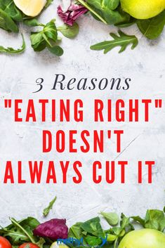 "Sometimes clean eating or ""eating right"" just won't cut it in helping you treat your MTHFR gene mutation symptoms or any other gene mutations. Here are three reasons why healthy recipes may not cut it in helping you feel better. #mthfr"