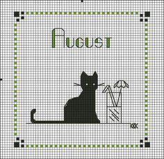 Gallery.ru / Photo # 15 - Calendrier chat noir - Nataz