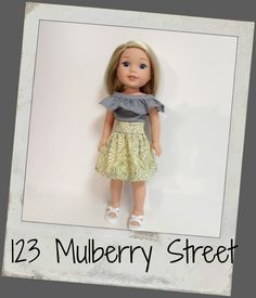 Doll Clothes fit dolls like Wellie von 123MULBERRYSTREET auf Etsy