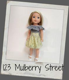 Doll Clothes fit dolls like Wellie von 123MULBERRYSTREET auf Etsy