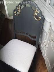 Image result for gilding wax stenciled on blue furniture
