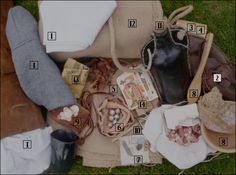 Snapsack Contents
