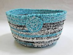 Fabric Bowl- quite possibly my new addiction