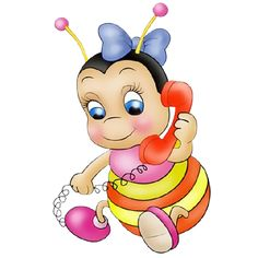 Funny Honey Bees Cartoon Insect Images Are PNG Format On A Transparent Background Honey Bee Cartoon, Cartoon Bee, Cute Cartoon, Bee Pictures, Clip Art Pictures, Honey Bee Images, Bee Clipart, Bee Happy, Animated Cartoons