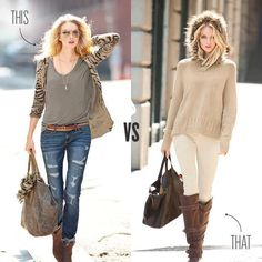 sweater & boots