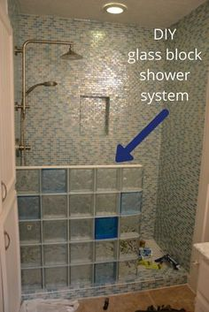 Superbe 5 Reasons You Donu0027t Want To Build A Glass Block Shower Without A Plan