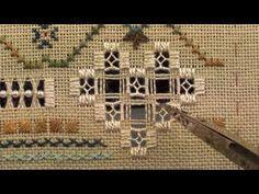 09 A Stitcher's Heart - Hardanger - Doves Eyes - YouTube