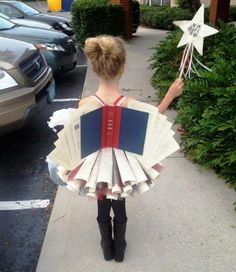 """One of the most amazing book-themed costumes we've seen -- the """"Diction-Fairy""""! For more Mighty Girl costumes inspired by stories, check out our new post on """"A Mighty Girl Halloween: 50 Mighty Girls in Costume"""" at http://www.amightygirl.com/blog?p=4818"""