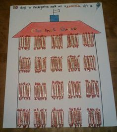 100 days of school I'm doing this too cute!