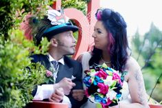 Mad Hatter's Tea Party & A Truly Inspirational Love Story: Nicola & Nick