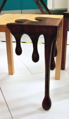 Dark Chocolate Art And Design On Furniture... Love it