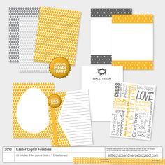 Freebies: Project Life Easter Digital  Kit by a Little Grace and Mercy
