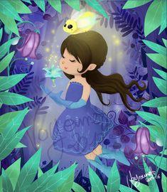 illustration jeunesse luciole