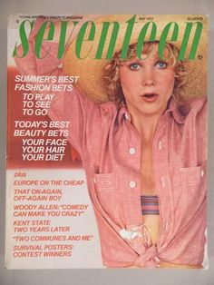 May 1972 cover with Betsy Cameron