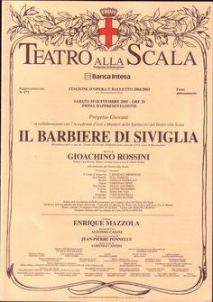 La Scala Milano Programma | 2005