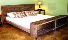 Furniture. Impressive Pallet Bedroom Furniture Enhancing Awesome ...
