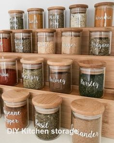 I've started doing a complete pantry makeover . which is one of my favourite. I've started doing a complete pantry makeover . which is one of my favourite things to do 😂 the first area in our pantry I've re-done is…, Kitchen Organization Pantry, Home Organisation, Diy Kitchen Storage, Kitchen Pantry, Kitchen Decor, Spice Organization, Kitchen Ideas, Pantry Ideas, Pantry Storage