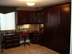 Bed Desk, Murphy Bed Desk Combo With Wall Lights 001 In Home: Murphy Bed Desk in Home