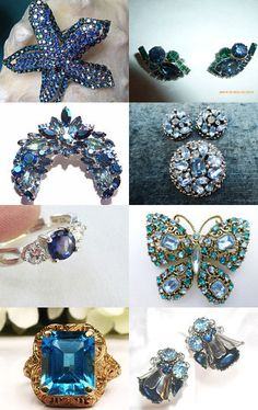 Pretty in Blue by VJT by Randy and Lynn on Etsy--Pinned with TreasuryPin.com