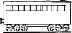 Bubakids free printable coloring image Train Coloring Page 12 for preschool, kindergarten and elementary school children to print and color. Halloween Coloring Pages Printable, Free Printable Coloring Pages, Free Printables, Coloring Apps, Coloring For Kids, Coloring Books, Adult Coloring, Image Train, Trains Birthday Party