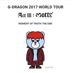 Gd Bigbang, Daesung, G Dragon, Yg Entertainment, Fanart, Idol, Bear, Collection, Fan Art