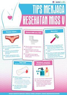 Infografis: Tips Menjaga Kese hatan Miss V Healthy Beauty, Health And Beauty Tips, Healthy Tips, Health And Wellness, Health Fitness, Herbal Remedies, Natural Teething Remedies, Natural Remedies, Infographic