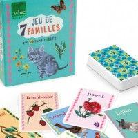 Vilac Nathalie Lete happy families card game
