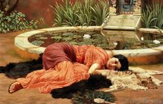 John William Godward - Dolce Far Niente, 1904