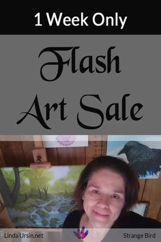I have limited safe art storage space, so I'm selling off some artwork. This ends Friday Nov 4, so you'll have to get your piece before that. #7DayFastMoneyChallenge