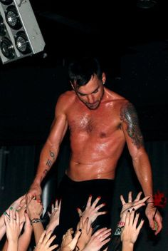 DAYUM - to quote the prior pinner.  Shannon Leto ... one hot drummer.