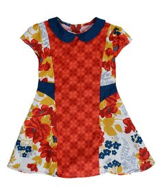 Loving this Red Isla Dress - Toddler & Girls on #zulily! #zulilyfinds