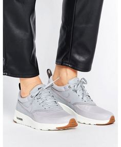 Nike Air Max Thea Basket Weave Grey Trainers Cool Trainers, Grey Trainers, Air  Max 0550713f8caf