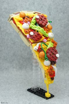 Pizza | by nobu_tary #Toy_Art #LEGO #Pizza