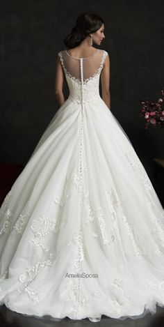 LOVE THIS DESIGNER! It's like she's in my head! :D Amelia Sposa 2015 Wedding Dresses - Belle The Magazine