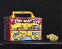 "Daily Paintworks - ""Animal Crackers"" - Original Fine Art for Sale - © Kim Testone"