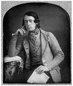 sonicmute:  …a dandy… …daguerreotype, c.1845…