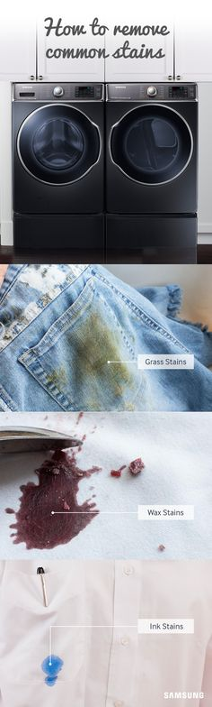 Learn how to banish stains for good with these Samsung laundry hacks.