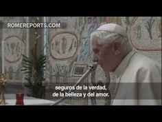 Benedicto XVI da las gracias a la Curia por su ayuda durante sus 8 años de pontificado