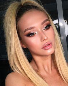 glam makeup – Hair and beauty tips, tricks and tutorials Natural Summer Makeup, Simple Makeup, Creative Makeup, Natural Makeup For Blondes, Natural Beauty, Natural Glam Makeup, Summer Eye Makeup, Summer Makeup Looks, Spring Makeup