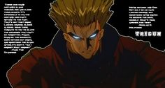 trigun quotes | Trigun With Quotes Wallpaper by megousta66