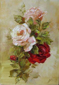 розы 40х годов    Описание:, 35-50, 2007г