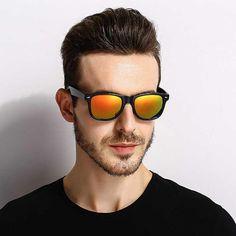 01e213c878 Men Classic Square Polarized Driving Sunglasses UV400