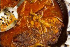 Smothered Cajun Seven Steak | Louisiana Kitchen & Culture