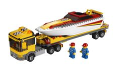 Lego City Power Boat Transporter 4643 Pictures