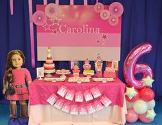 """American Girl / Birthday """"{American Girl Birthday}"""" 