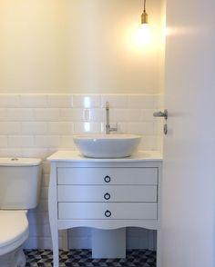Nosso banheiro social! 😍 #banheiro #lavabo #bathroom #brocosplace