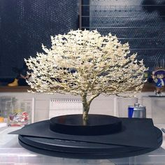 1000s Of Miniature Origami Cranes Turned Into Incredible Bonsai Trees By Naoki Onogawa