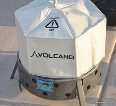 How To Use A Volcano Stove For Survival - Food Storage Moms