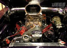 What is your all-time favorite engine? Is it a supercharged 426 Hemi like the one pictured here?