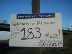 Great Facebook Idea: Orientation Road Signs